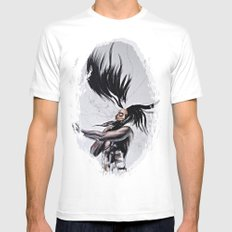 Come to Life White MEDIUM Mens Fitted Tee