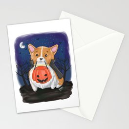 Trick or Treat?... Arf! Stationery Cards