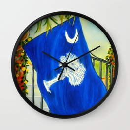 South Carolina - A State of Art Wall Clock