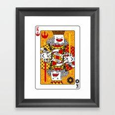King of Toys Framed Art Print