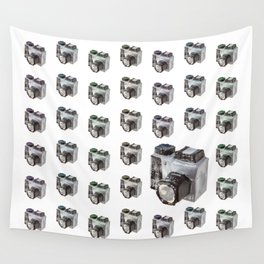 Paper Camera Wall Tapestry