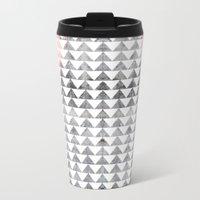 Triangles II Travel Mug