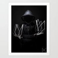 prism Art Prints featuring Prism by Rewolf