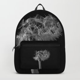 Monochromatic dandelion Backpack