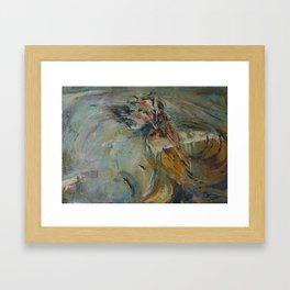 Dance like a flight Framed Art Print