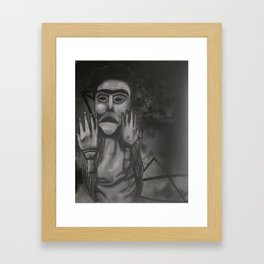 Primal Response  Framed Art Print