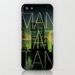 Beautiful Manhattan iPhone Case
