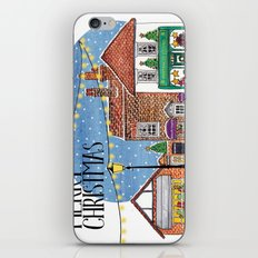 Special Edition Holiday Print: Merry Christmas by Charlotte Vallance iPhone & iPod Skin