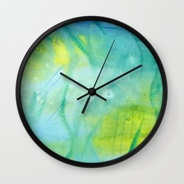 Mermaid´s Grotto Watercolor Wall Clock