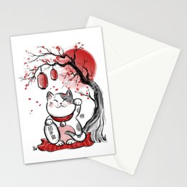 Japanese Neko Stationery Cards