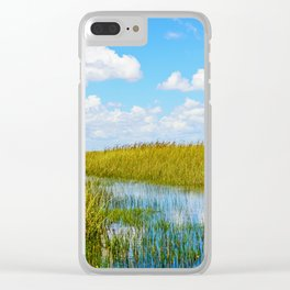 Florida Welands Clear iPhone Case
