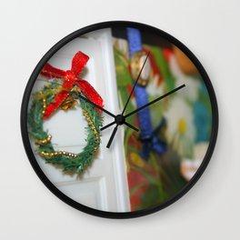 Yule Time Wall Clock
