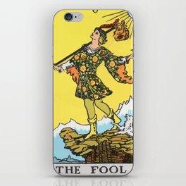 00 - The Fool iPhone Skin
