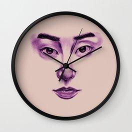 Glassy   Xiumin Wall Clock