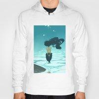 underwater Hoodies featuring Underwater by Triona Tree Farrell