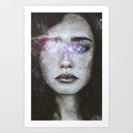 Blind love Art Print