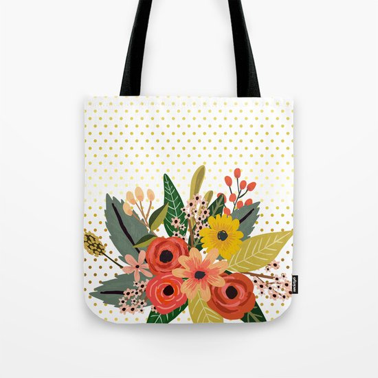 Flowers bouquet #1 Tote Bag