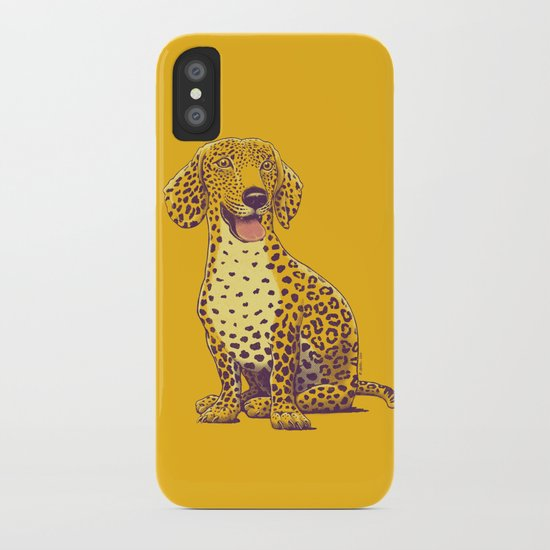 Take a Woof on the Wild Side! iPhone Case