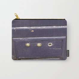 Old purple door Carry-All Pouch