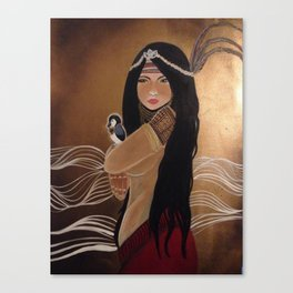 Agas: Medicine Woman Canvas Print