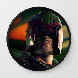Judge Dredd Wall Clock
