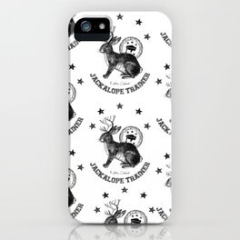 5 star certified jackalope trainer iPhone Case