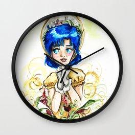 Sailor Jupiter Yellow Flower Wall Clock