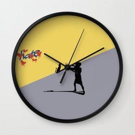 Love win Wall Clock