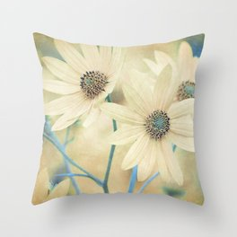 Altered States -- Helianthus Sunflower Autumn Botanical Throw Pillow