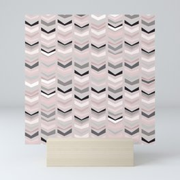 pink seventeen Mini Art Print