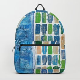 Blue path Backpack