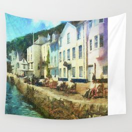 Bayards Cove, Dartmouth,  Devon Wall Tapestry
