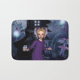 Little Daphine Fantasy Fairy World Bath Mat