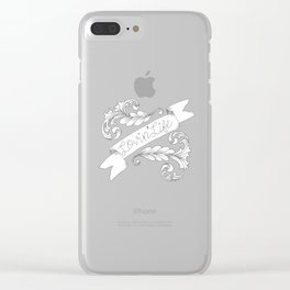 Lovin' Life Clear iPhone Case
