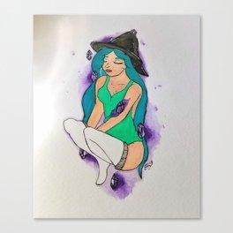 Crystal Meditation Canvas Print
