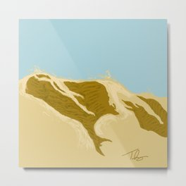 Dunes of Hazard Metal Print