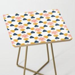 kaleidoscope white Side Table