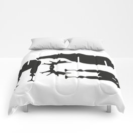Moose Puzzle Pattern Comforters
