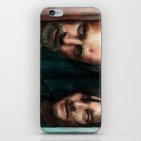 walking dead iPhone & iPod Skins featuring Dead Walking by ChrisHdzArt