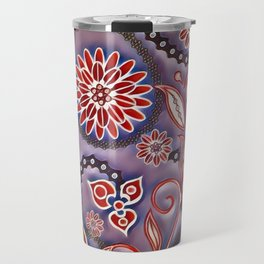 Funky Flowers Travel Mug