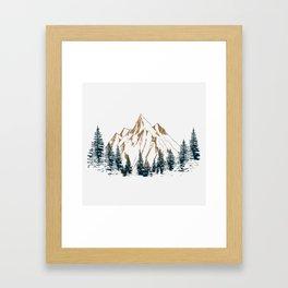 mountain # 4 Framed Art Print