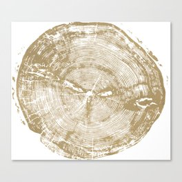 Sundance Pine, Tree ring print Canvas Print