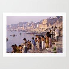 Varanasi India Art Print