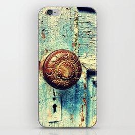 Unused door iPhone Skin