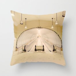 Montreal Subway | Métro de Montréal Throw Pillow