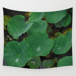 Pond Pads Wall Tapestry