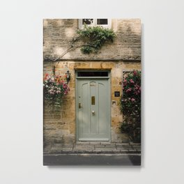 Cotswold Door Metal Print