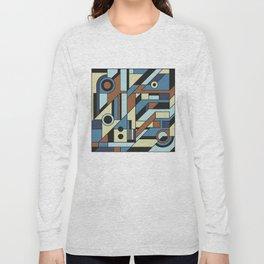 De Stijl Abstract Geometric Artwork 3 Long Sleeve T-shirt