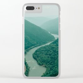New River Gorge Wilderness Clear iPhone Case
