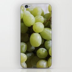Green Grapes iPhone Skin